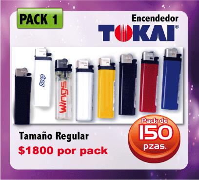 ENCENDEDORES IMPRESOS TOKAI-IMPRESO-MEXICO
