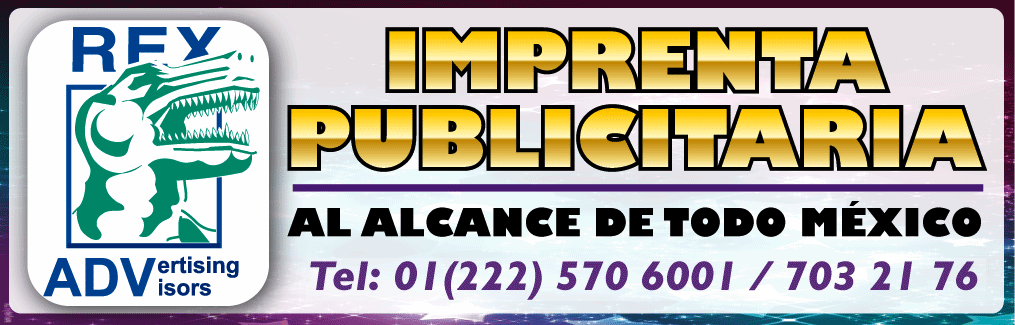 Imprentas en Puebla REX ADV