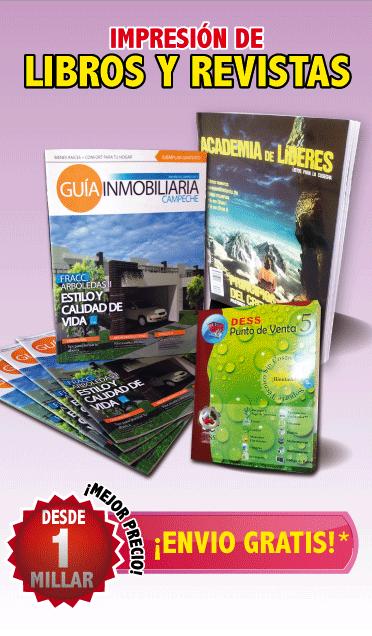 IMPRESION DE DIPTICOS TRIPTICOS REVISTAS MEXICO